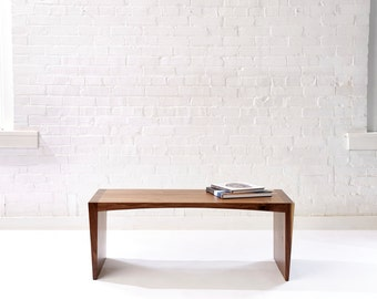 Fifty in a Sixty Five - Modern Walnut Bench