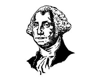President George Washington rubber Stamp