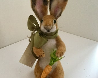 Needle Felted Rabbit/ Bunny
