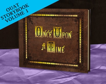 Henry's Once Upon A Time Storybook (inspired) - Vol 1 - Full size - Made To Order