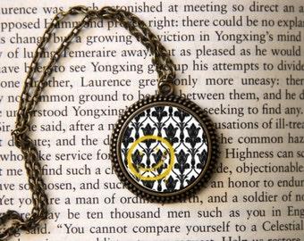 """SHERLOCK  """"Bored! Smiley"""" Pendant Necklace, Sherlock Holmes,Fan Jewelry, Great Gift"""