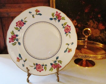 Wedgwood Chinese Flowers Bread and Butter Plate, Chinoiserie China, Colonial Williamsburg Foundation, Afternoon Tea Plates, Mother's Day