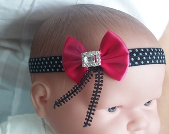 Modern Baby headbands - Handmade baby hair bands