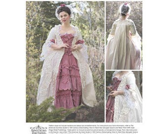 Simplicity Pattern 8578 Misses' 18th Century Gown