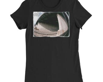 NYC Graffiti 2 Women's Slim Fit T-Shirt