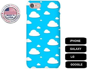 Cloud Phone Case, Clouds iPhone 7 Case, iPhone 7 Plus Case, iPhone 6s Case, iPhone 6s Plus Case, iPhone 6 Plus Case, Galaxy S8 Case, LG G5