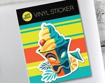 Dole Whip Vinyl Sticker