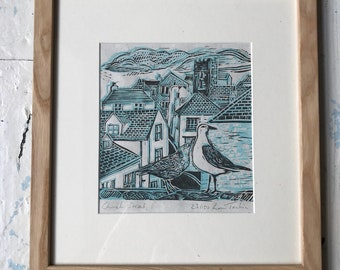 Church Street, limited edition print by Lou Tonkin