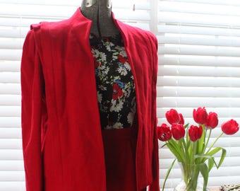 1960s Atomic Jacket and Skirt Set