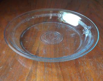 Vintage Anchor Hocking Fire King Pie Plate; Pie Dish; Pie Pan