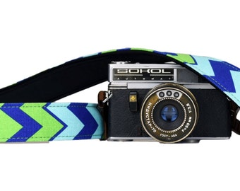 iMo Cool Chevron camera strap suits for DSLR / SLR with quick release buckles