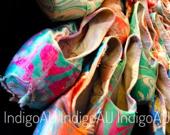 Pointe Shoe Photo Print - Green and Pink