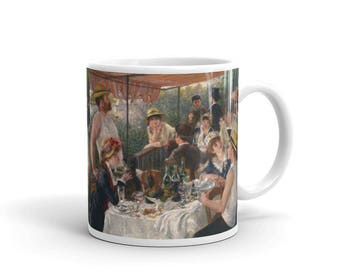 Pierre-Auguste Renoir, Luncheon of the Boating Party - Mug made in the USA