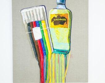 crochet art - 130x100cm - 2017
