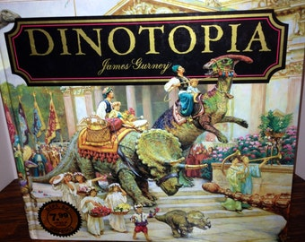 Was 22, Now 15  REDUED DINOTOPIA, A Land Apart From Time, by James Gurney, 1992, Turner Publishing, Stated First Edition