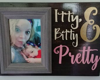 Itty Bitty and Pretty Painting and Frame