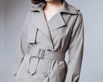 Olive Trench Coat Khaki Trench Coat Khaki Outwear Trenchcoat Trench Coat Women Ladies Trench Coats