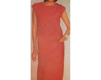 Simplicity Sewing Pattern 6760  Misses' Dress  Size:  12-14-16  Uncut