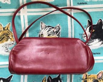 Vintage 1950's red handbag Jana