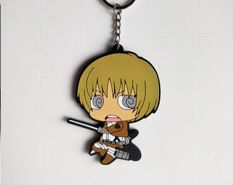 Attack on Titan Jean Kirschtein  Keyring Cute Anime Gift Toy Charm