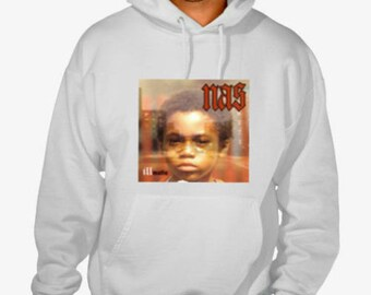 "Nas ""Illmatic"" Hip Hop Street Hoodie"