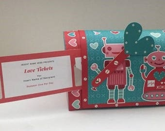 Romantic Love Tickets