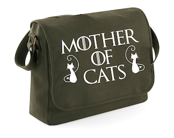 Bag messenger Mother of Cats 2 - Game of Thrones - khaki bag