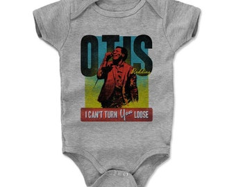 Otis Redding Baby Clothes | Soul Music | Baby Romper | Otis Redding Retro R