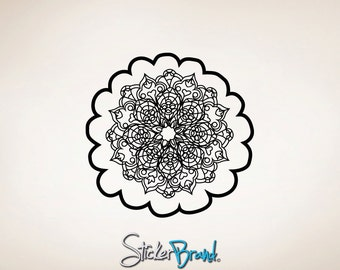 Vinyl Wall Decal Sticker Oriental Flower Motif item OSMB121M