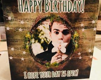 Stefan Salvatore Birthday Card