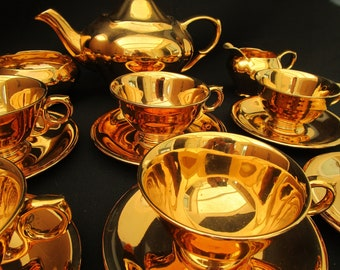 Royal Winton Golden Age Tea Set.
