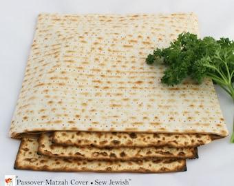 Passover Matzah Cover - Passover Seder Matzah Cover - Pesach Matzah Cover - Matzah Cover - Passover Decor - Hostess Gift