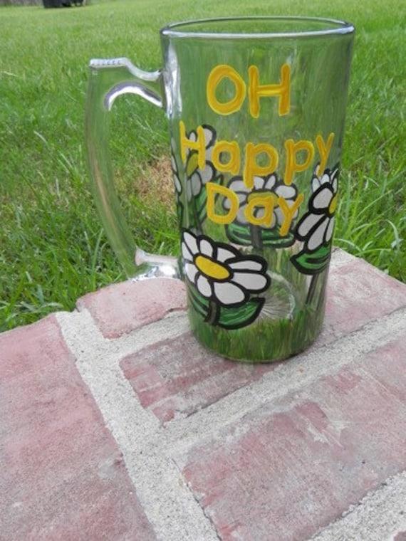 Oh Happy Day Beer Mug