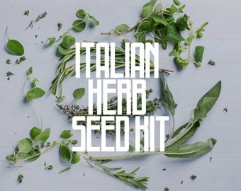 The Italian Herb Seed Kit