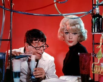 1  photograph starring  -   JERRY LEWIS Stella Stevens .... the  Nutty PROFESSOR .... great for framing