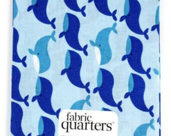 "Fabric Quarters Cotton Fabric 18""-Nautical"