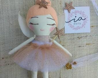 little fairy 20 cm, 100% handmade