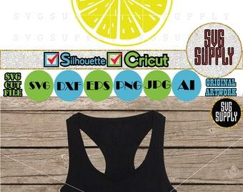 Lemon Smile SVG cut file vinyl decal for silhouette cameo cricut iron on transfer on mug shirt fabric design
