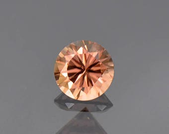 FLASH SALE! Excellent Peach Champagne Zircon Gemstone from Tanzania 1.97 cts.