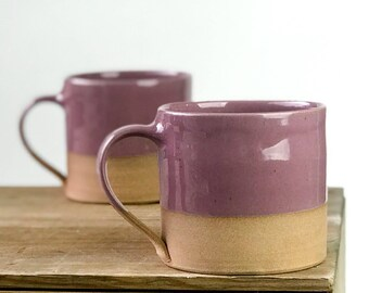 Mug - White Glaze with wide mouth 16oz