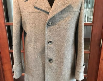 Vintage 1980's Whaling Mfg Company Wool Pea Coat