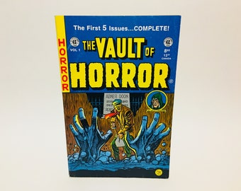 Vintage Horror Comic Magazine The Vault of Horror Annual Vol. 1 1994 First Five Issues
