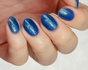 Hawaii - custom Summer Destinations scented ocean blue green micro glitter flakies