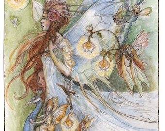 Titania's court, Greeting Card by Renae Taylor