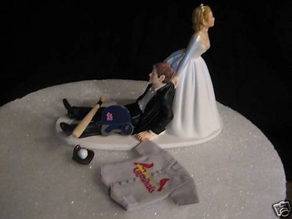 Items Similar To St Louis Cardinals BASEBALL Wedding Cake