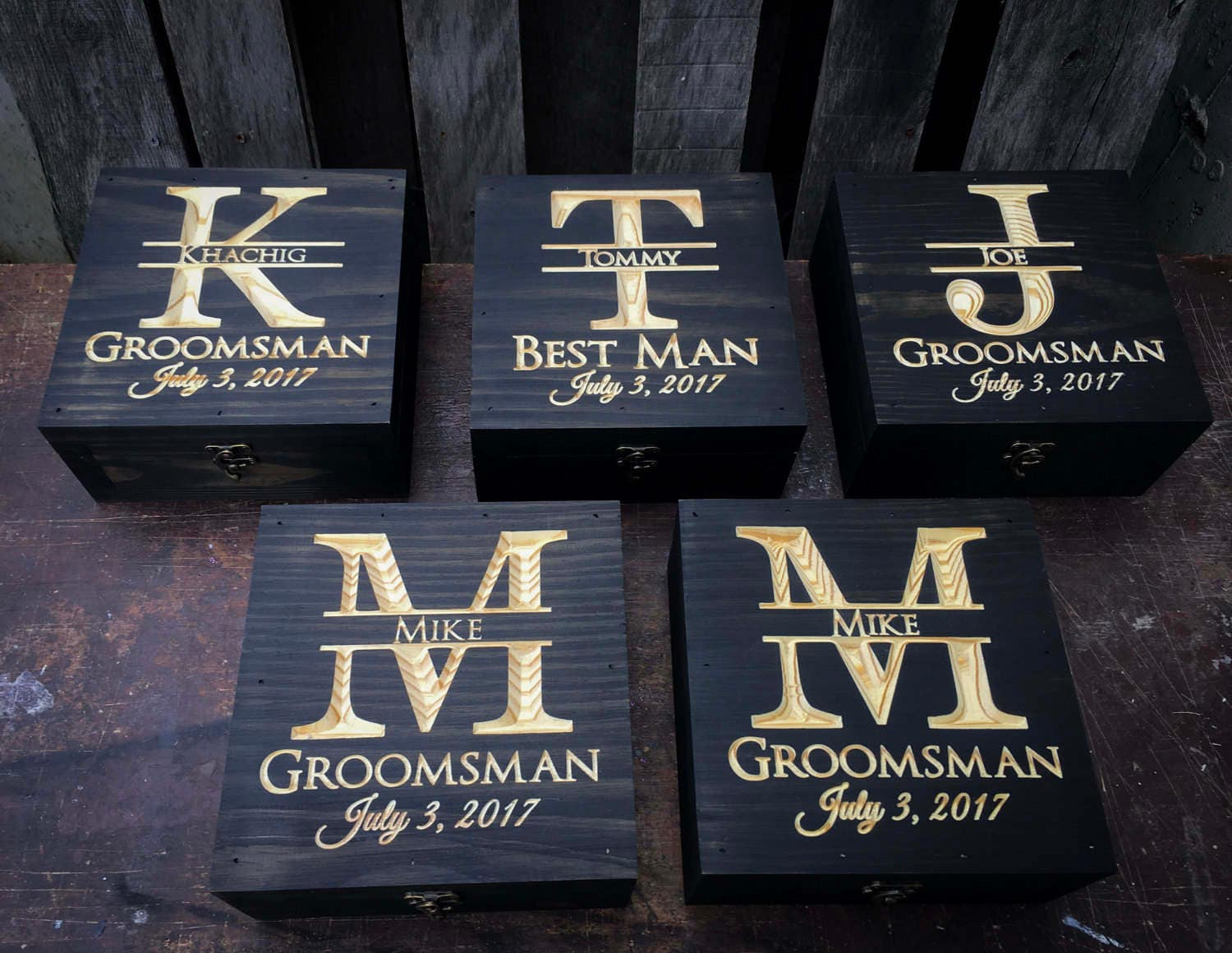 Groomsmen Wedding Gift: Groomsmen Gift Set 5-12 Gift Set Wedding Gift Set Keepsake