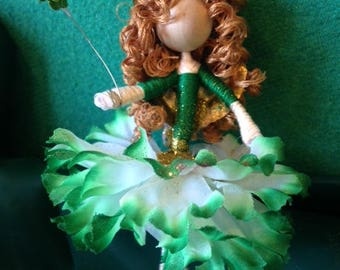 Irish Lass Fairy Doll