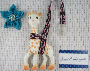 Sophie the Giraffe Leash/Toy Saver - Misc