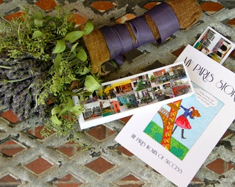 My Paris Story by the Paris Women of Success (signed copy) + Falling Off Bicycles bookmark