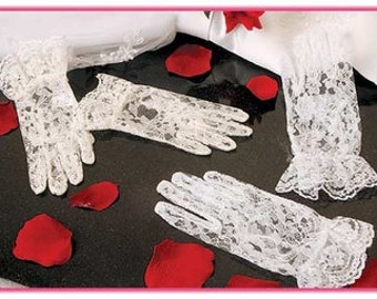 Ivory Gloves for First Communion -- READY TO SHIP G2